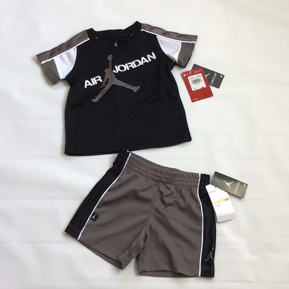 45596de7801 Nike Matching Sets | Baby Air Jordan Jumpman 2 Piece Shorts Set ...
